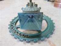 "Letz grinder.  16"" diameter"