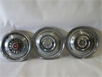Group of hub caps