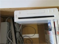 Nintendo Wii and games.  No controllers