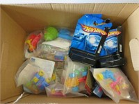 Box of childrens toys