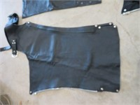 3 pairs of womens leather riding chaps. 1 pair