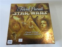 Trivial pursuit star wars edition