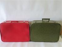 2 suit cases