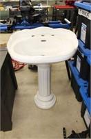 """Pedestal sink.  33"""" tall"""