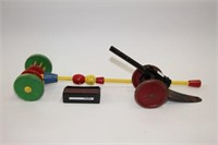 Lincoln cannon and other childrens toys