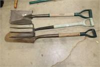 Group of garden tools