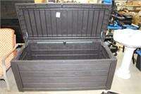 """Keter patio storage box.  61"""" x 28"""" x 25"""""""