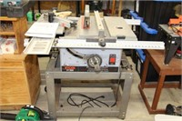 "Ryobi bt-3000 10"" table saw with stand"