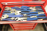 Group of Mastercraft pliers and adjustable