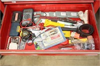 Mastercraft multimeter and assorted tools