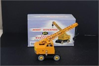 Dinky Super Toys crane with box