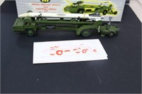 Dinky Super Toys missile erector vehicle with