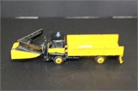 """Dinky Super Toy snow plow truck.  8"""""""