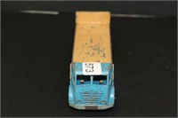 """Dinky Super Toy flat bed truck.  7"""".  Blue"""