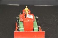 """Dinky Super Toy.  8 Law Knox bull dozer.  5.5"""""""