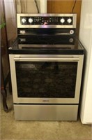 """MAYTAG S/S FLAT TOP SELF CLEANING 30"""" RANGE"""