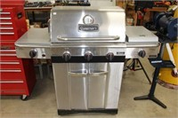 Cuisinart propane BBQ with cover and tank