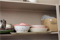 LARGE QUANTITY OF DISHES