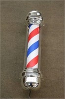"""REPRODUCTION ELECTRIC BARBER POLE 26"""""""