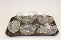CRYSTAL SERVING DISHES