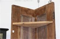 """OLD DOOR SHELF  25"""" x81""""h"""
