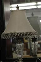 "2 MODERN LAMPS 19"""