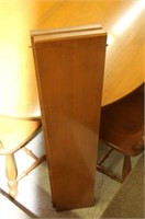 """HEPWORTH 46"""" MAPLE TABLE WITH 2 LEAVES & 6 CHAIRS"""