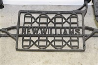 "NEW WILLIAMS TREADLE BASE & TOP 48"" x 14"""