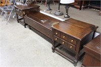 3 PIECE PINE OCCASIONAL TABLES