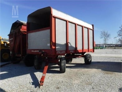 MILLER PRO Forage Wagons Auction Results - 47 Listings