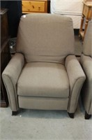 2 UPHOLSTERED ARM CHAIRS
