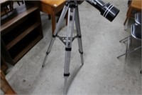 POLARIS BY MEADE TELESCOPE & STAND