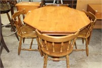 TABLE & CHAIRS 40""
