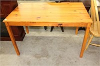 """PINE TABLE WITH EXTRA TOP  47"""" x 30"""""""