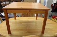 PINE END TABLE 28""