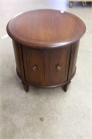 """Round end table.  11"""""""