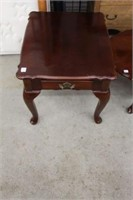 """3 piece coffee and end table set.  46"""" x 21"""""""