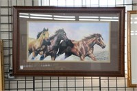 """B.L. Marris framed print.  40"""" x 25"""""""