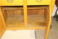 """2 door cupboard with with drawers.  42"""""""