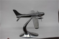 "Model airplane.  18"" tall"