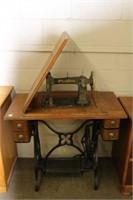 Raymond treadle sewing machine