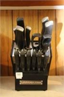 Lagostina knife block and knives