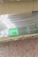 """Qty of 36, 33, 20, 24 and 16"""" glass prisms"""