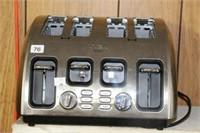 Tfal stainless 4 slice toaster