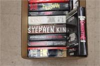 Box lot of Stephen King novels