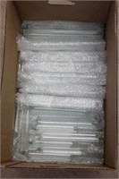 """Large quantity of 8"""" and 11"""" glass prisms"""