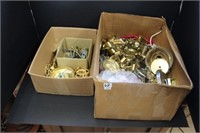 2 boxes of lamp parts