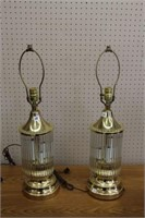 """2 table lamps.  26"""""""
