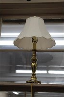 """Brass table lamp.  28"""""""