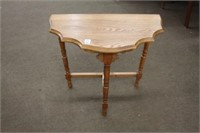 Oak occasional table 24""